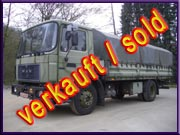 Army Trucks MAN 13.192 F 4x2