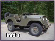 Militärjeeps Willys Kaiserjeep CJ5